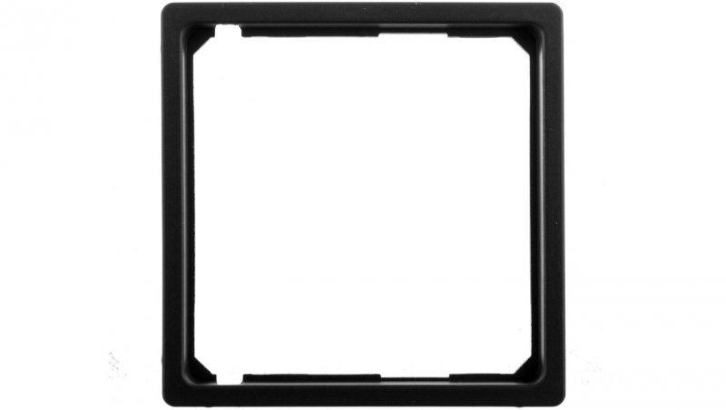 Pierścień adaptacyjny do płytki centralnej Berker Q.1/Q.3 antracyt aksamit 11096086