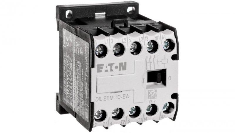 Stycznik mocy 6A 3P 230V AC 1Z 0R DILEEM-10-EA(230V50HZ,240V60HZ) 189979
