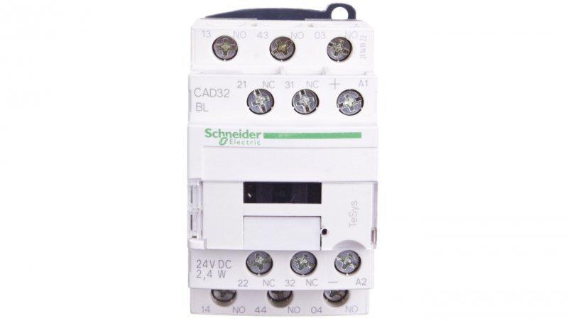 Stycznik pomocniczy 10A 3Z 2R 24V DC CAD32BL