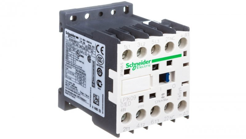 Stycznik mocy 9A 3P 48V DC 0Z 1R LP1K0901ED