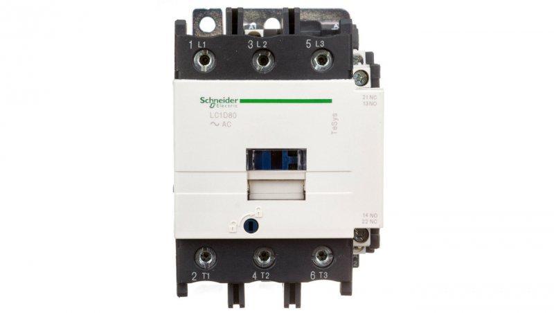 Stycznik mocy 80A 3P 48V AC 1Z 1R LC1D80E7