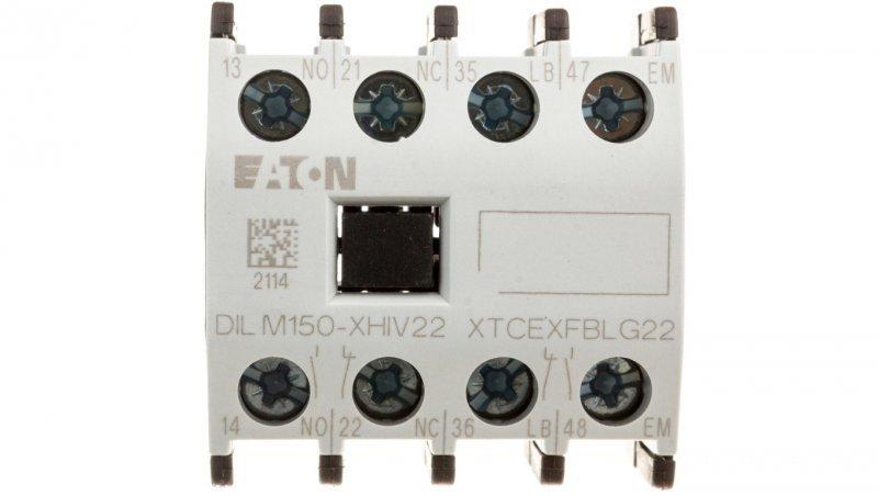 Styk pomocniczy 2Z 2R montaż czołowy DILM150-XHIV22 277953