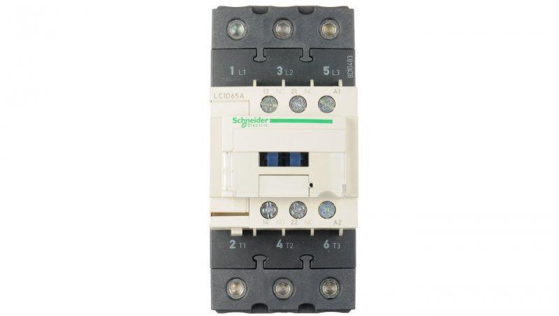 Stycznik mocy 65A 3P 230V AC 1Z 1R (EVK) LC1D65AP7