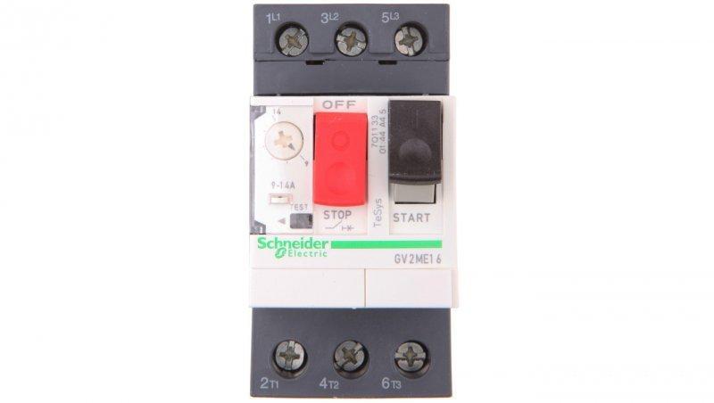 Wyłącznik silnikowy 3P 5,5kW 9-14A GV2ME16