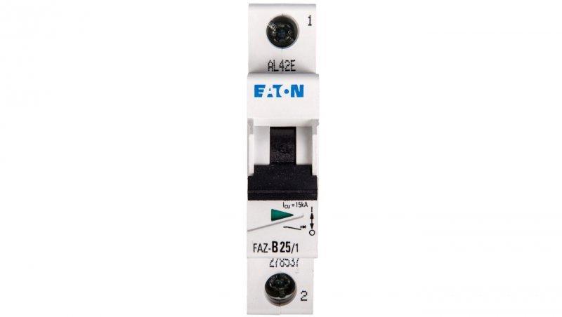 Wyłącznik nadprądowy 1P B 25A 15kA AC FAZ B25/1 278537