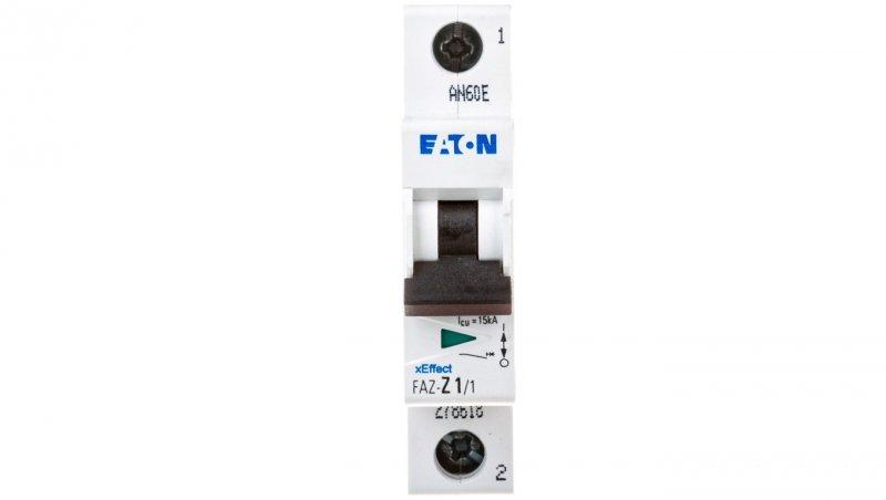 Wyłącznik nadprądowy 1P Z 1A 15kA AC FAZ Z1/1 278618