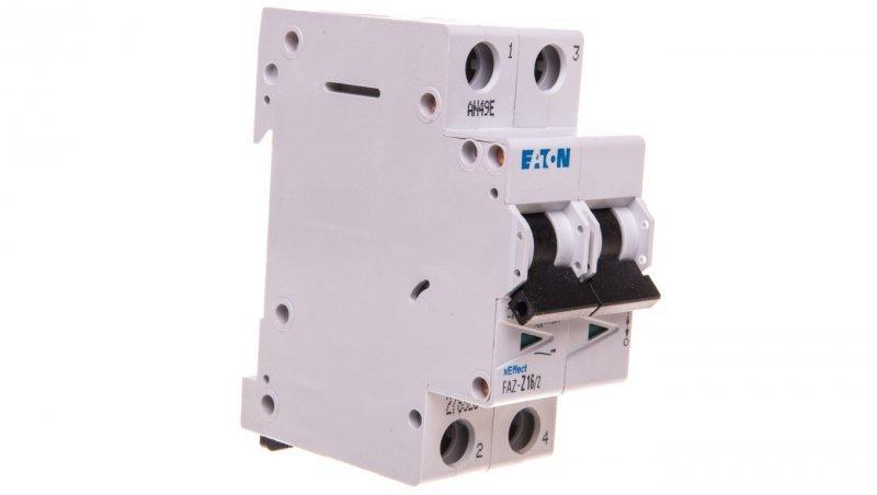 Wyłącznik nadprądowy 2P Z 16A 15kA AC FAZ Z16/2 278825