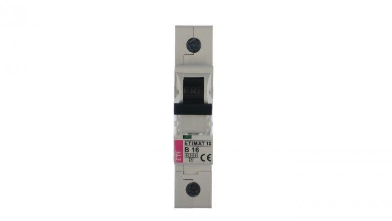 Wyłącznik nadprądowy 1P B 16A 10kA AC ETIMAT10 002121716