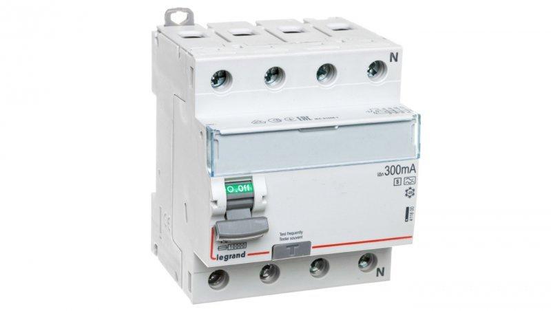 Wyłącznik różnicowoprądowy 4P 40A 0,3A typ A-S P304 DX3 411800