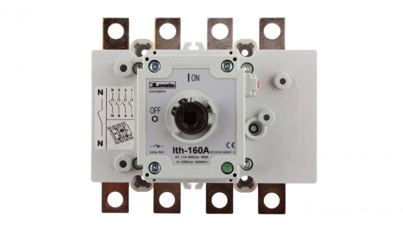 Rozłącznik izolacyjny 4P 160A GE0160T4