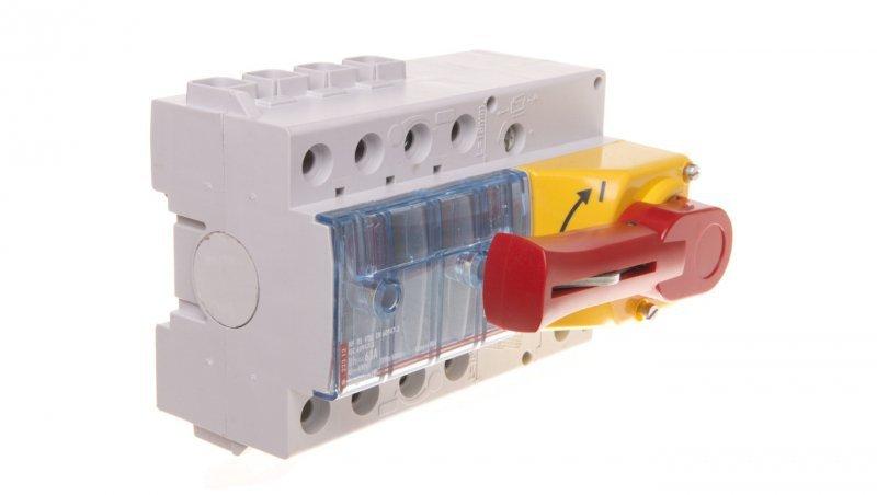Rozłącznik izolacyjny 3P 63A VISTOP /napęd frontowy czerwony/ 022312