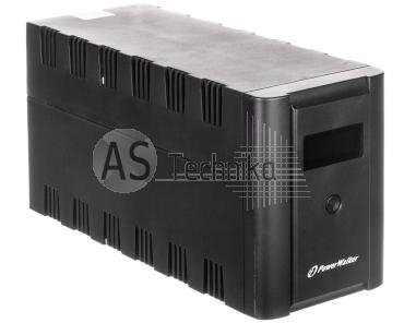 UPS POWER WALKER LINE-INTERACTIVE 1200VA 2x230V 2xIEC OUT, RJ11/RJ45 IN/OUT, USB, LCD VI 1200 LCD