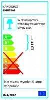 ISLA LISTWA 2X4W LED CHROM 3000K