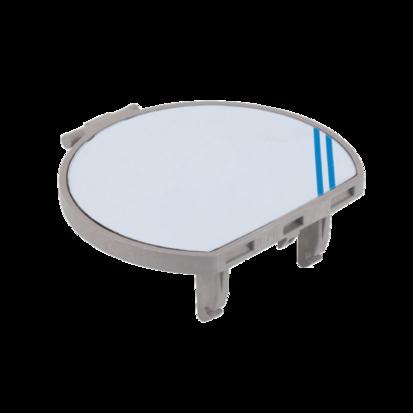 Pokrywa do puszek podłogowych KSE (element zapasowy) mosiądz