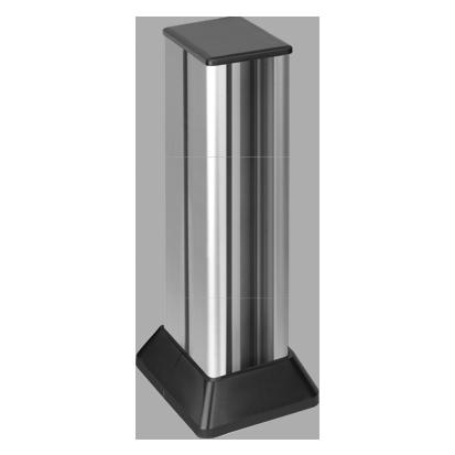 Minikolumna dwustronna ALC 471mm 12×K45 6×CIMA 6×S500 aluminium