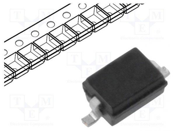 Dioda: przełączająca; SMD; 100V; 250mA; 3ns; SOD323; Ufmax: 1,25V