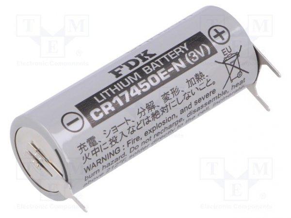 Bateria: litowa; 3V; 4/5A,CR8L; 3pin,biegun dodatni:  2pin
