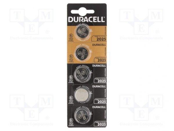 Bateria: litowa; 3V; CR2025,pastylkowa; Il.bat: 5; Ø20x2,5mm