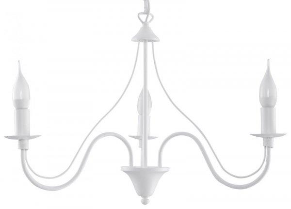 Żyrandol MINERWA 3 Biały