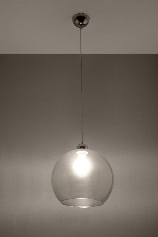Lampa Wisząca BALL Transparentny