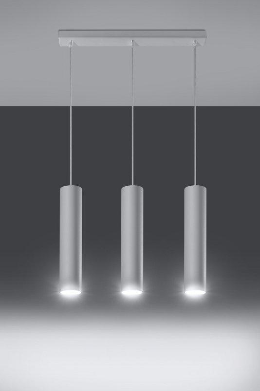 Lampa Wisząca LAGOS 3 Biały