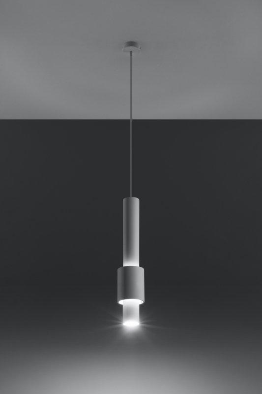 Lampa wisząca SHIRAZ biała