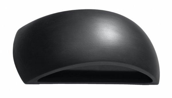 Kinkiet ceramiczny PONTIUS czarny