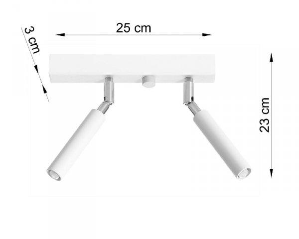 Plafon EYETECH 2 biały
