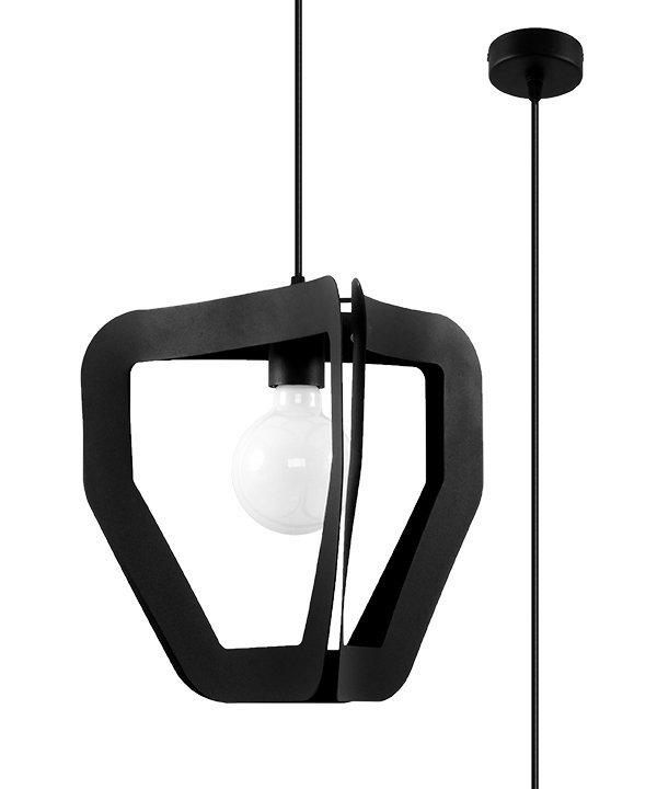 Lampa wisząca TRES czarna