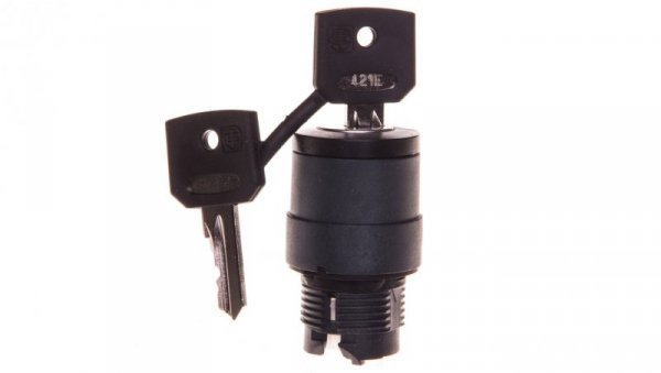 Napęd przełącznika 2 położeniowy z kluczem bez samopowrotu ZB5AG212