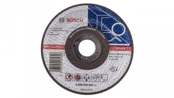 Tarcza tnąca prosta do metalu A 30 S BF 125x2,5x22mm 2608600394 /5szt./