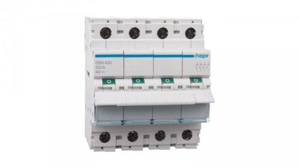 Rozłącznik modułowy 100A 4P SBN490