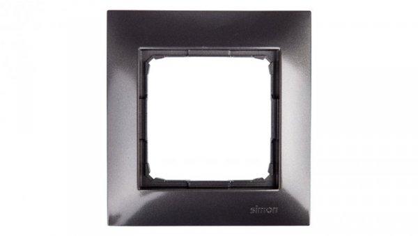 Simon 54 Premium Ramka pojedyncza antracyt /do karton-gips/ DRK1/48