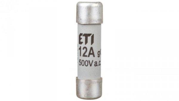 Wkładka bezpiecznikowa cylindryczna 10x38mm 12A gG 500V CH10 002620008
