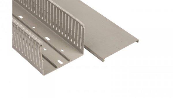 Korytko grzebieniowe 100x80x2000mm jasnoszare E194 /2m/