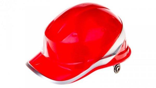 Hełm budowlany czerwony z ABS, rozmiar regulowany DIAM5ROFL
