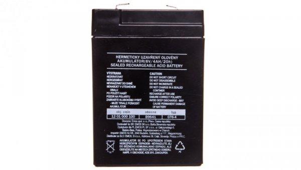 Akumulator ołowiowy AGM 6V 4Ah F4,7 B9641