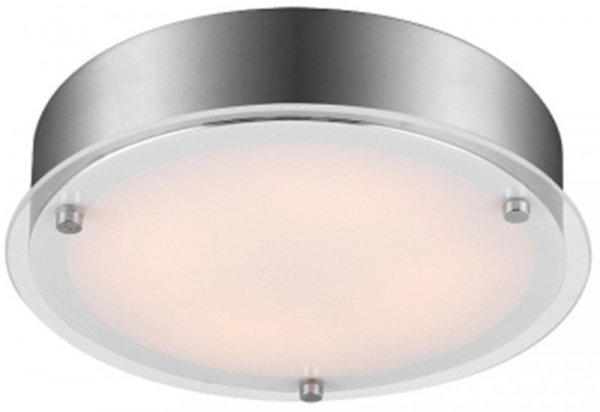 RONDA PLAFON 33 1X18W LED SATYNA
