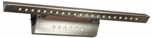 FORTE LED 3 KINKIET 7W LED RURKA TRÓJKĄTNA Z WYŁĄCZNIKIEM SATYNA