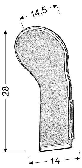 VILANA LED KINKIET 1X5W SMD 230V/50HZ