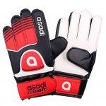 Rękawice Asadi Junior czerwony 7