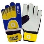 Rękawice Asadi Junior żółty 7
