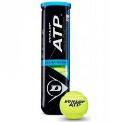 Piłka tenisowa Dunlop ATP Championship żółty
