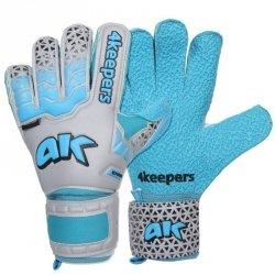 Rękawice 4keepers Champ Astro IV HB + płyn czyszczący niebieski 11