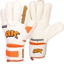 Rękawice 4keepers Champ Training IV Roll Finger S622438 biały 10,5