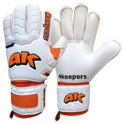 Rękawice 4keepers Champ Training IV Roll Finger Junior + płyn  S622453 biały 6