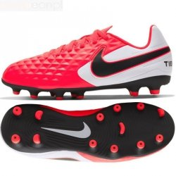 Buty Nike JR Tiempo Legend 8 Club AT5881 606 czerwony 28