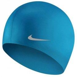 Czepek silikonowy Nike YOUTH TESS0106 458 junior niebieski