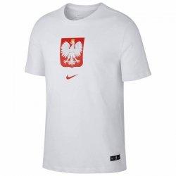 Koszulka Nike Poland Tee Evergreen Crest CU9191 100 biały S