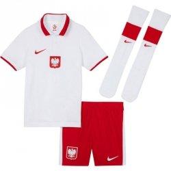 Komplet Nike Poland LK Brt Kit Home CV0569 100 biały M 110-116 cm